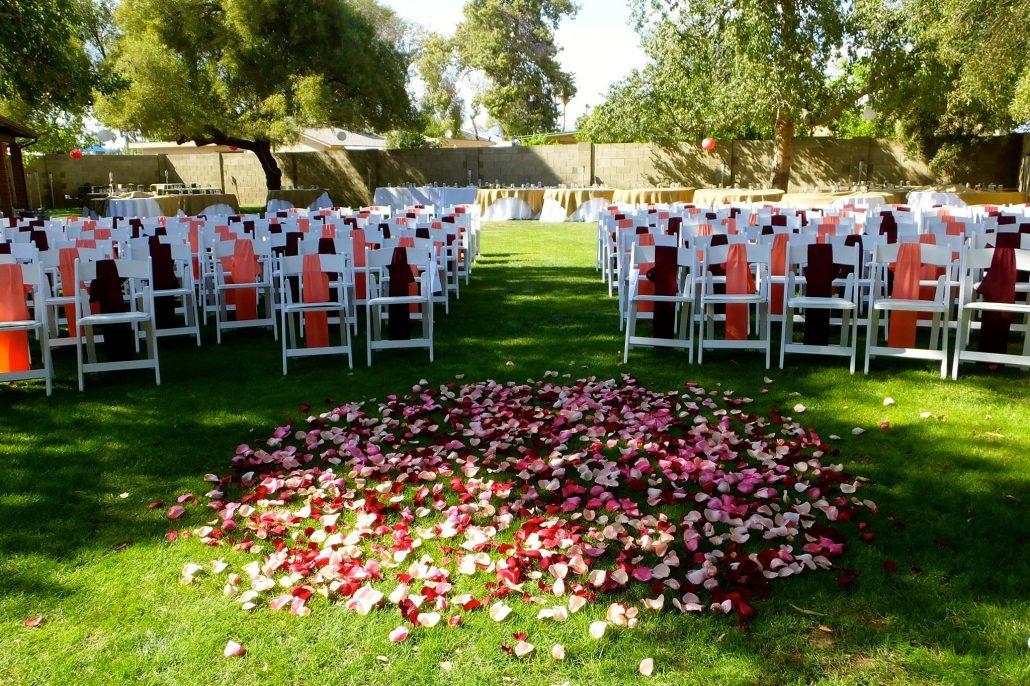 Ceremony Rose Petals